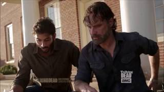 Talking Dead - Andrew Lincoln on Rick's relationship with Siddiq