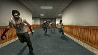 Zombie Invasion in Counter Strike! (L4D2, HD-Video)