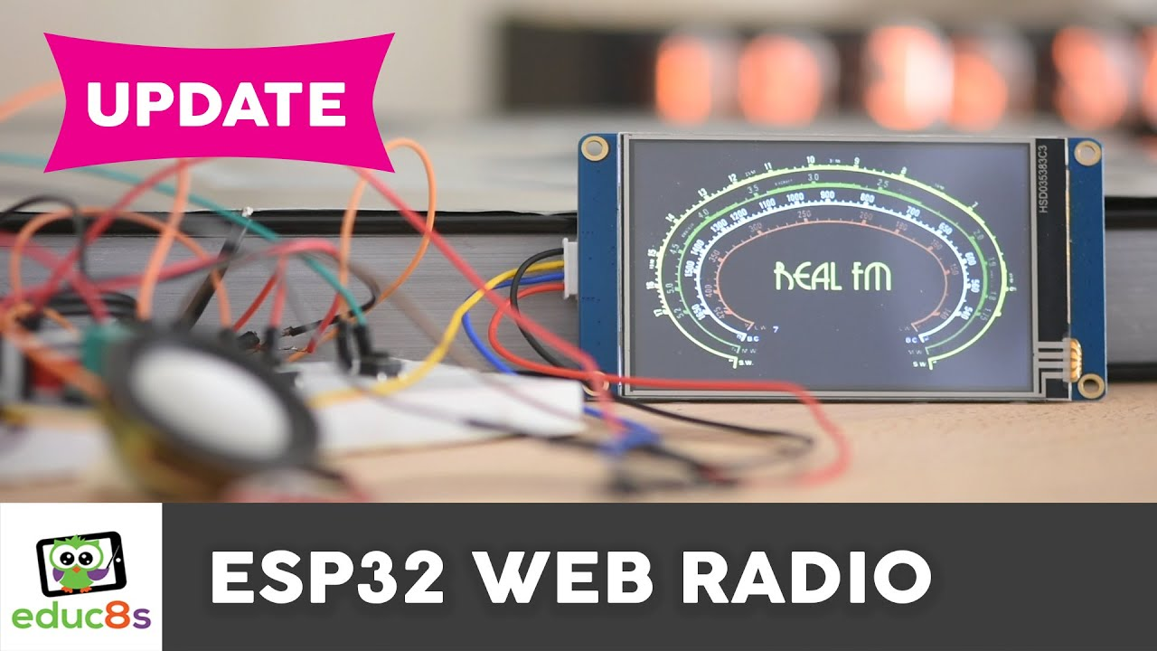 Internet Radio Using an ESP32: 7 Steps (with Pictures)