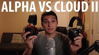 HyperX Cloud Alpha vs HyperX Cloud II - COMPARISON & REVIEW!