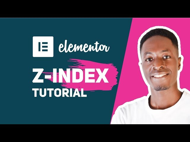 How To Use Z-Index in Elementor
