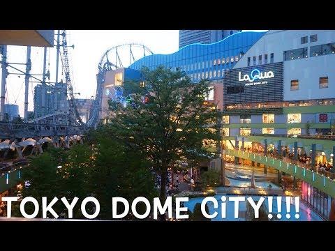 TOKYO DOME CITY AMUSEMENT PARK | THUNDER DOLPHIN ROLLER COASTER