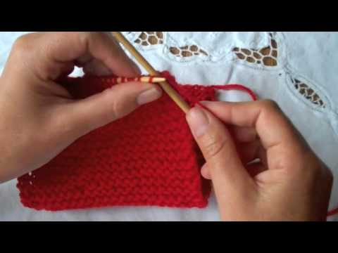 How to Knit: Binding Off