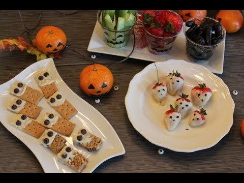 Halloween Treats 5 Quick Easy Diy No Bake Healthy Halloween