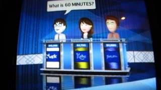 Jeopardy! Nintendo Wii Season 1, Game 1
