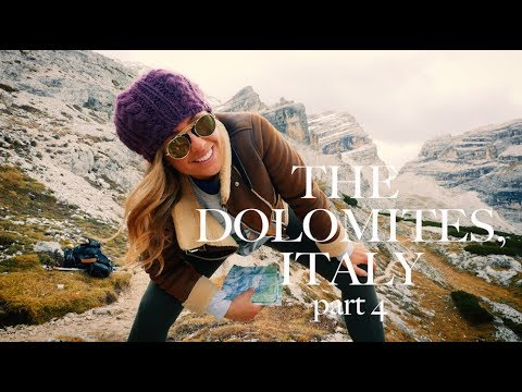 HIKING THE DOLOMITES, ITALY part 4