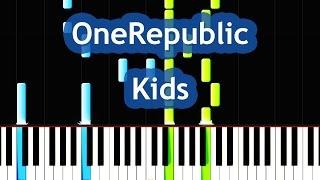 OneRepublic - Kids Piano Tutorial