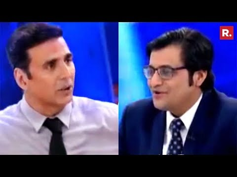 Akshay Kumar Speaks Exclusively To Arnab Goswami | The Debate
