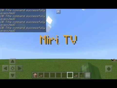 how to change names with commands in minecraft pe