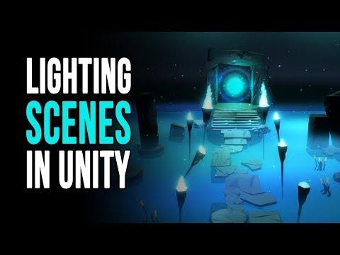 How to - Lighting scenes in unity