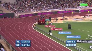 3:26.69 Asbel Kiprop 1500m Monaco Herculis 17.07.2015