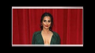 Coronation Street's Sair Khan risks wardrobe malfunction in daring dress at British Soap Awards