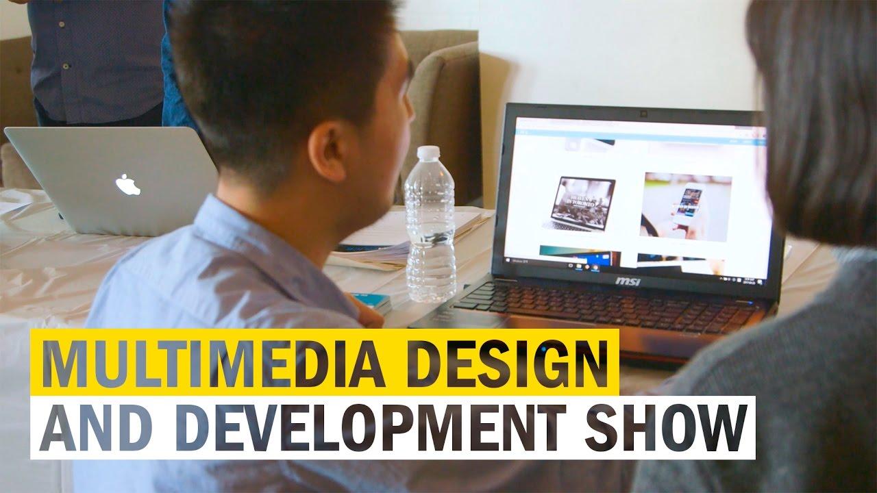 Multimedia Design And Development Portfolio Show Youtube