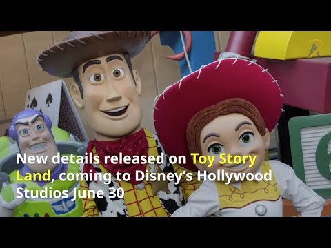 New details revealed for Toy Story Land at Disney's Hollywood Studios - 동영상
