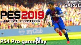 Pro Evolution Soccer 2019 (PS4 Pro gameplay) - Reprezentacja Polski i nowe licencje
