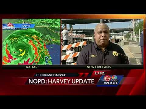 NOLA preps ahead of Hurricane Harvey