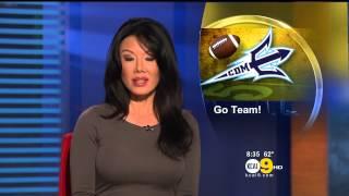 Sharon Tay 2012/11/30 KCAL9 HD
