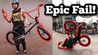 CRAZY BMX FAIL!