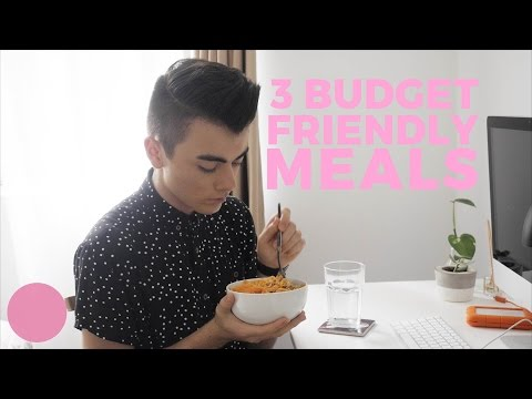 3 Cheap Easy Meals for Broke Students