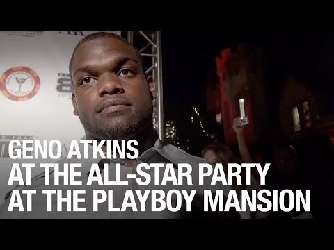 Geno Atkins Interview at the All-Star Celebrity Kickoff Party at The Playboy Mansion