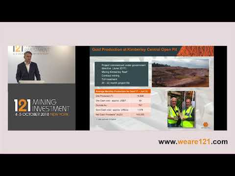 Presentation: West Wits Mining - 121 Mining Investment New York 2018