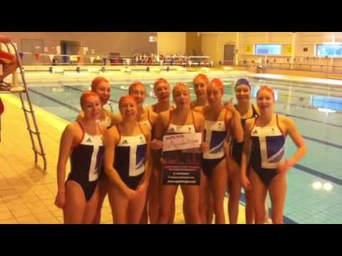 GB Olympic Synchro Team Message Of Support For Aquabatique