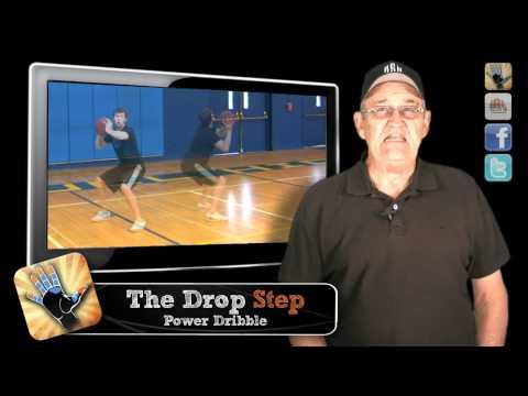KILLER Drop Step!!!  (Low Post Move)  -- Shot Science Basketball