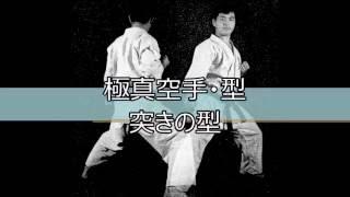 極真空手の型「突きの型」です。 KyokushinKata TsukiNoKata.