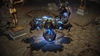 Path of Exile: Stormcaller Lightning Golem Skin