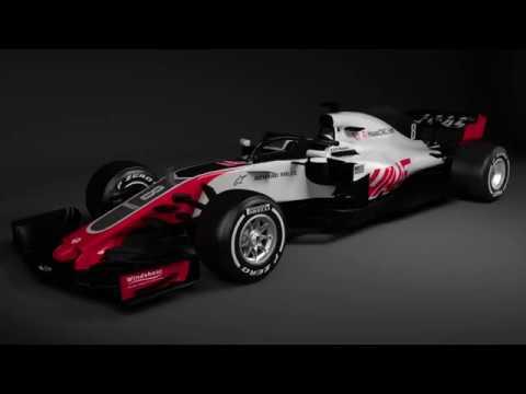 Haas F1 Team Unveils VF-18
