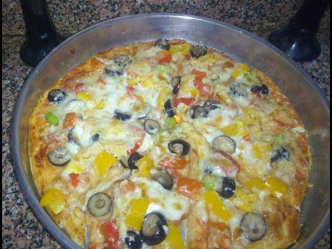 صورة  طريقة عمل البيتزا طريقة عمل البيتزا الإيطالي أحلى وأطعم من بتاعت المحلات حكااااايه  😋😋👈👍👍 طريقة عمل البيتزا من يوتيوب