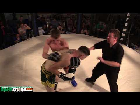 Dean Hill vs Gearoid Mcardle - Cage Legacy Kickboxing 3