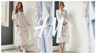 [H&M하울] 미국 H&M 언박싱하고 6…