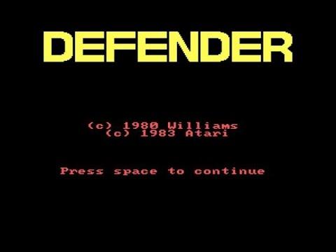 Defender gameplay (PC Game, 1983) thumbnail
