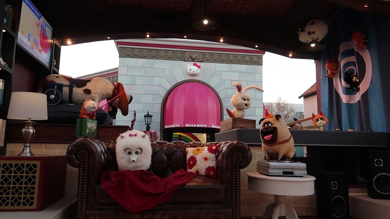 What's New At Universal Studios This Week   Secret Life of Pets ...