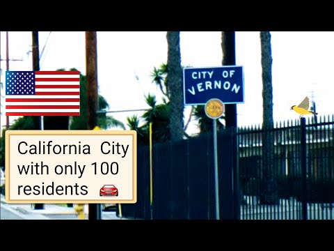 Dash Cam Tours 🚘 Vernon City, California USA