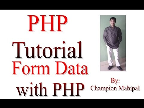 Learn PHP Tutorial 30 Get Form data with PHP Form Handling - YouTube
