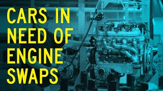 homepage tile video photo for Cars in Need of an Engine Swap: Window Shop with Car and Driver