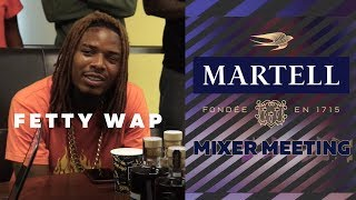 Fetty Wap On His Hit Single 'Birthday' + Hot 97 DJ's Discuss New Music | Martell Mixer Meetings