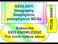GEOLOGY,Geography, Geophysics, petrophysics MCQs series Part 17From MCQs 161 to 170