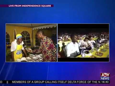 """Onga Ghana breaks world Guinness record for """"Longest Table"""""""