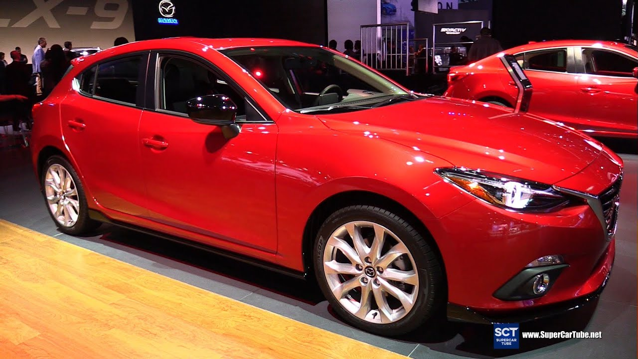 2016 mazda 3 s grand touring hatchback exterior and interior walkaround 2015 la auto show. Black Bedroom Furniture Sets. Home Design Ideas