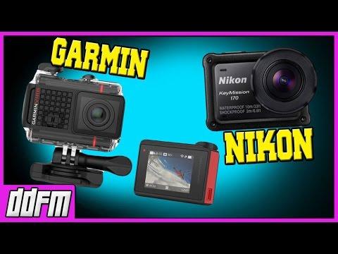 NIKON KeyMission 170 & GARMIN Virb Ultra 30 Action Cameras - My Opinion