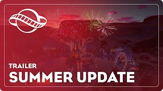 Summer Update Trailer – Planet Coaster