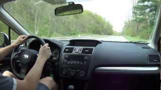 2012 Subaru Impreza Acceleration (Manual)