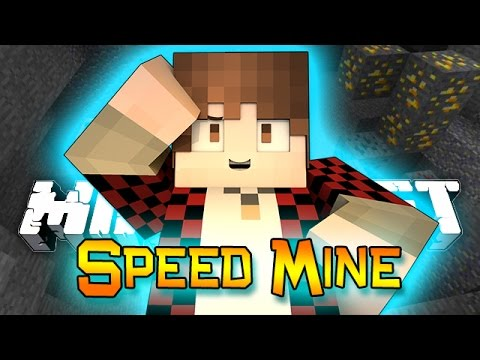 Minecraft: NEW MINI-GAME 1.8 CHALLENGE SPEED MINE!