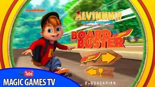 Элвин и бурундуки игра для детей | Alvin and the Chipmunks Board Buster
