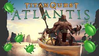 TITAN QUEST БАГ. Абуз на опыт./Titan Quest Exp Bug