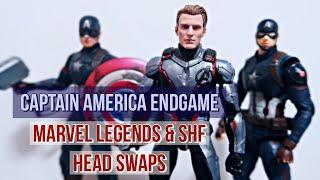 CAPTAIN AMERICA Figures Head Swap!