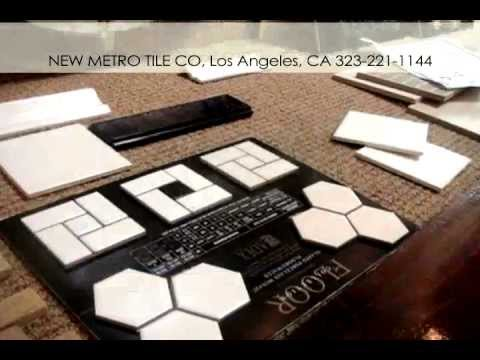 Tile On A Budget - 1920s, 1930s, 1940s Style Bathroom - New Metro Tile / Los Angeles